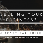 Selling your business? A practical Guide